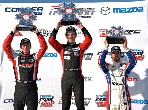 F2000-podium
