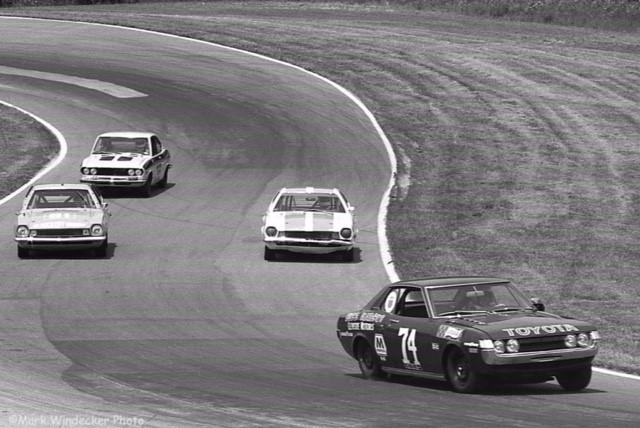 Buzz Marcus racing
